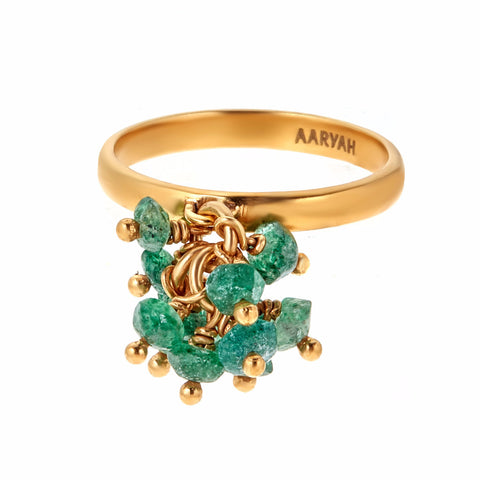 Trish Gold Cluster Ring