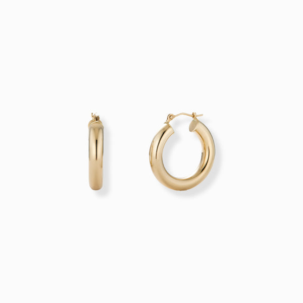 XS ANANYA 14KT Gold Hoops