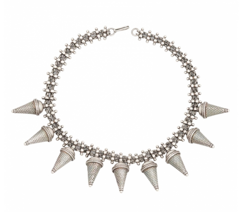 Spikes & Chains Choker