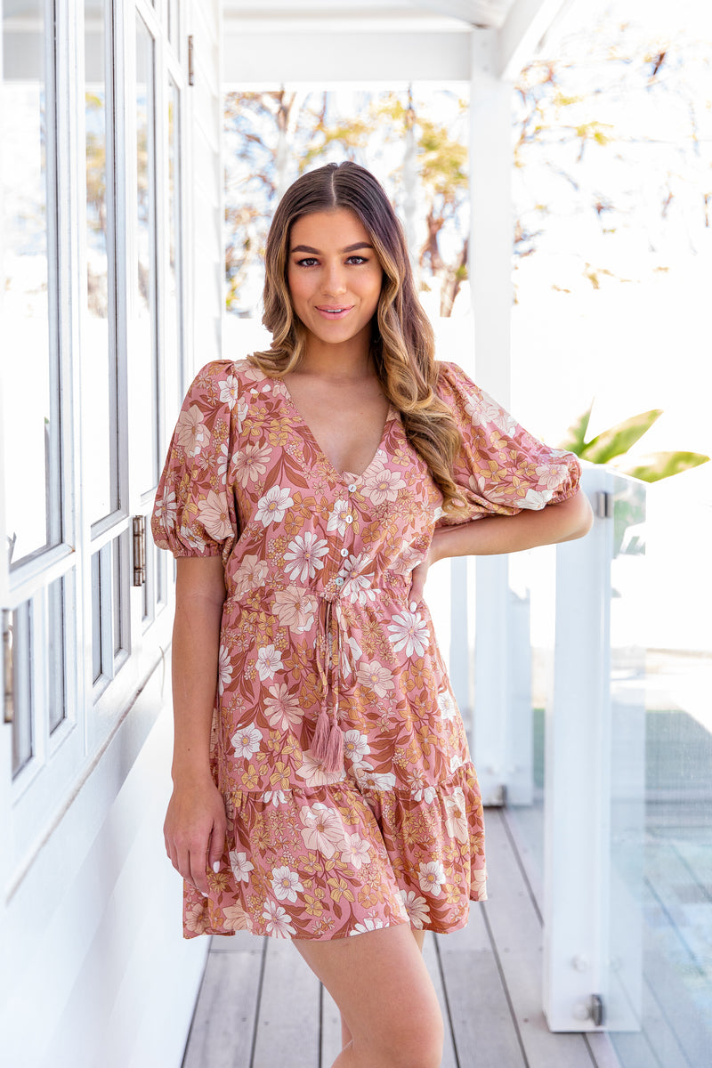 WINSLOW DRESS - MOCHA