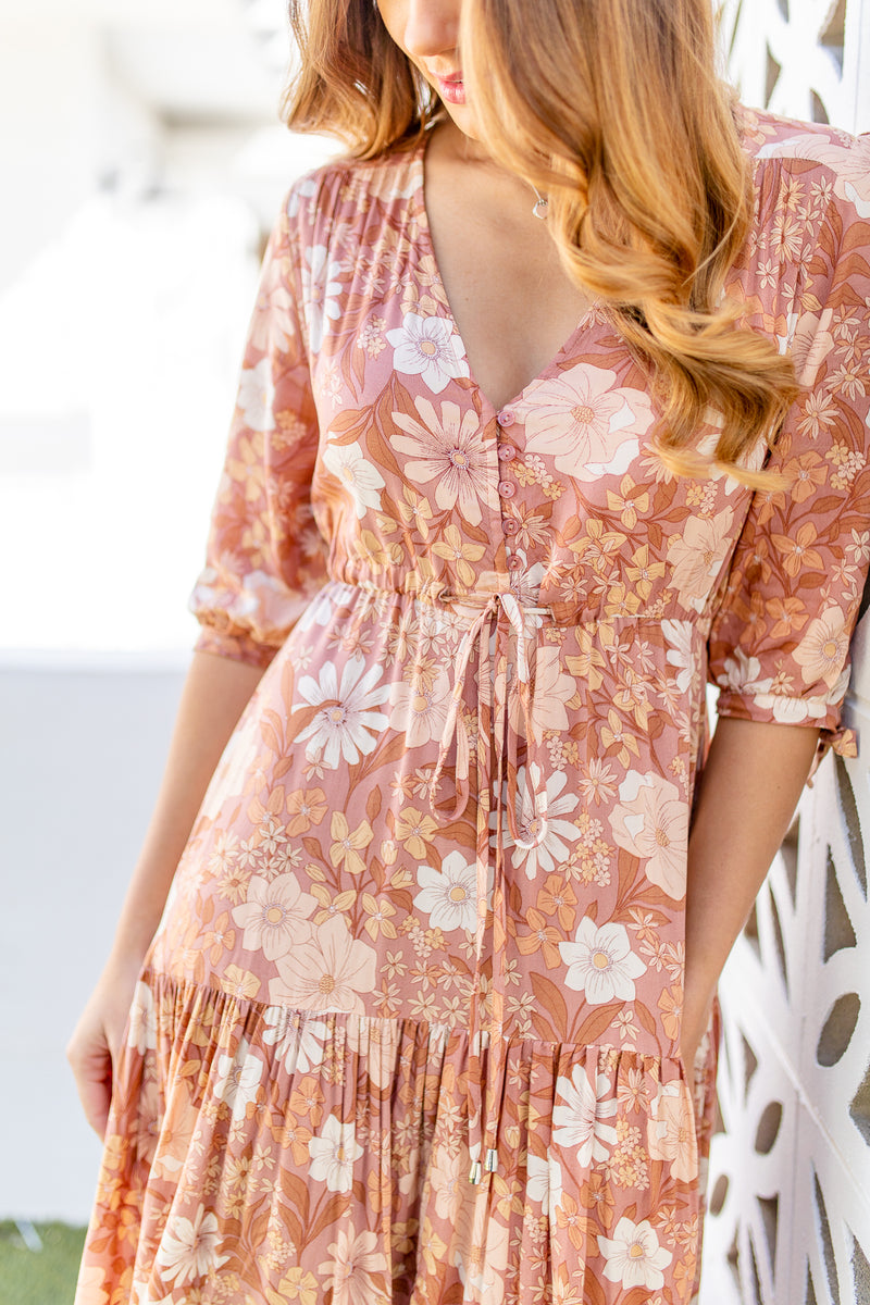 ARABELLA BOHO DRESS