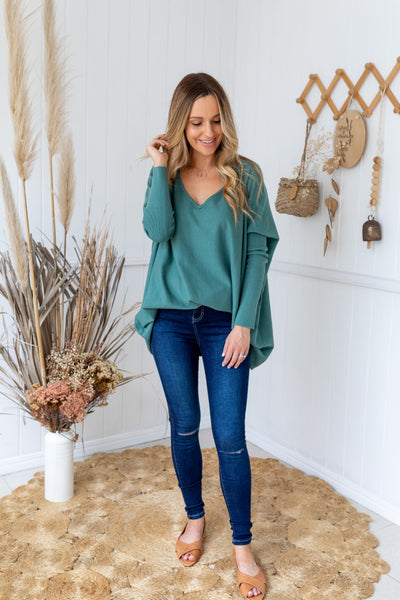 TULLY KNIT - SAGE GREEN