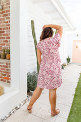 MARNIE DRESS - PINK LEOPARD