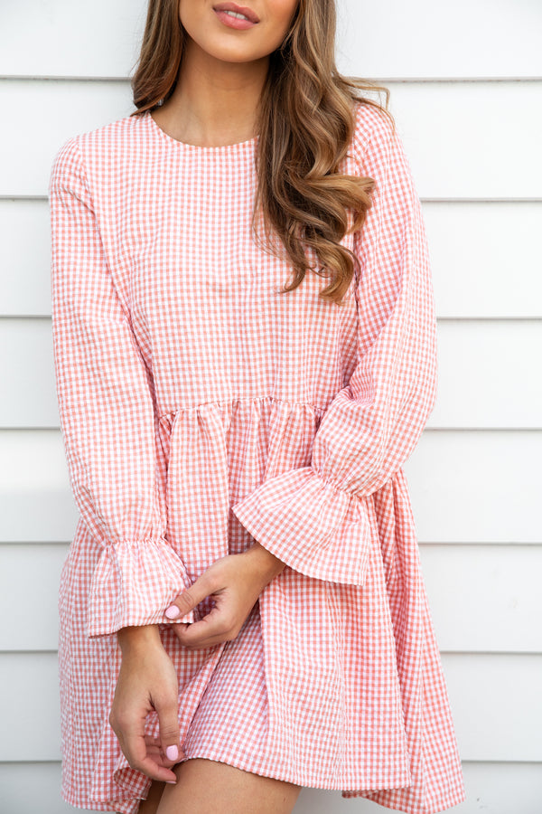 PIPPA DRESS - GINGHAM