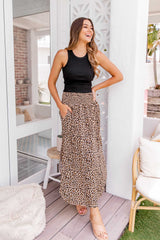 ESTHER BOHO SKIRT - LEOPARD