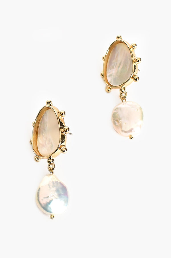 MARTINA PEARL DROP EARRINGS