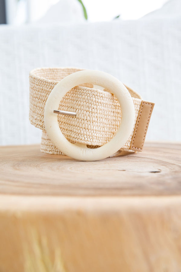 FIJI BELT - CREAM