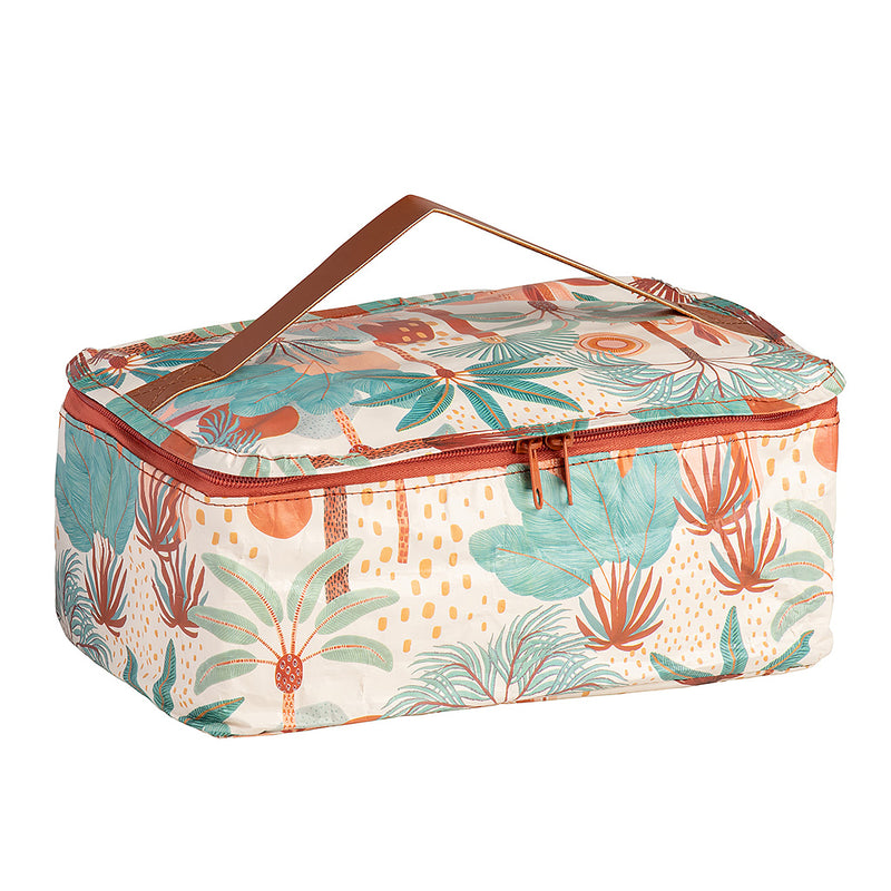 "KOLLAB TOILETRY STASH BAG - KARINA JAMBRAK ""DESERT"""