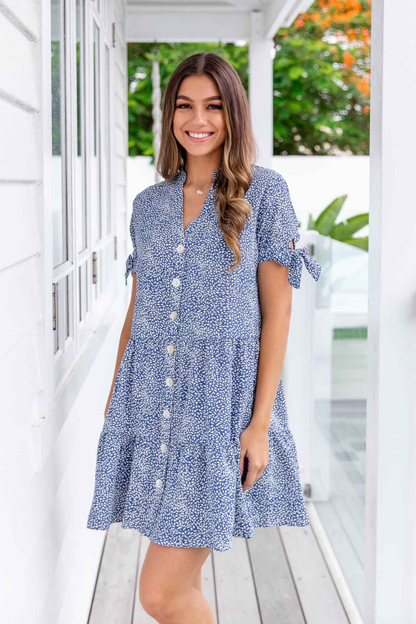 COVE DRESS - BLUE