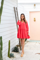JADA DRESS - WATERMELON