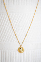 BIJOU SHELL PENDANT NECKLACE - by Saint Lucia