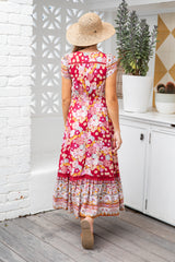 CARMEN BOHO DRESS - FLOWER CHILD - JAASE