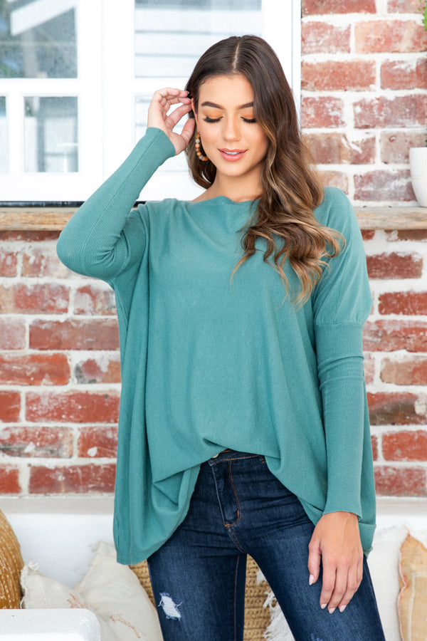 PAANDORA KNIT - SAGE GREEN - The Self Styler