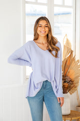 TULLY KNIT - LAVENDER