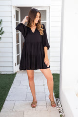 IMANI DRESS - BLACK