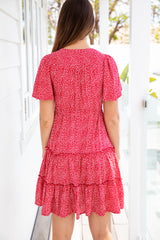 ARLO DRESS - RED