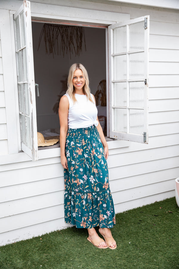 BLOOM BOHO MAXI SKIRT