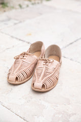 CATALINA LEATHER SANDAL - NATURAL