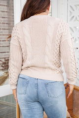 LUSTRE KNIT - CREAM