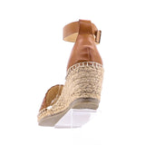 HABIT WOVEN LEATHER ESPADRILLE