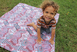 Indigenous Art Fabric Play Mat