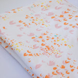 Portable Baby Change Mat - Forest Flowers