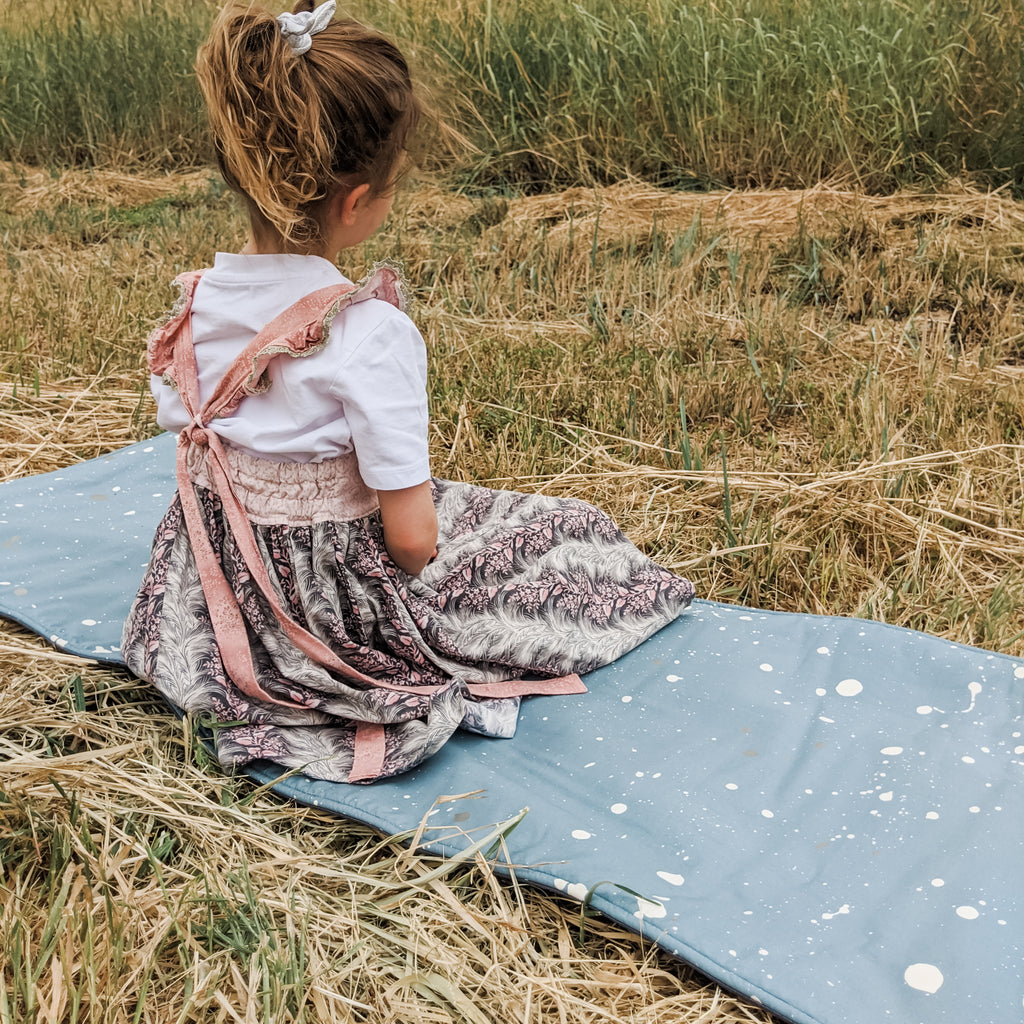 Portable Nap Mat - Splatter