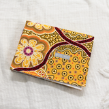 Indigenous Art Fabric Change Mat - Wildflower