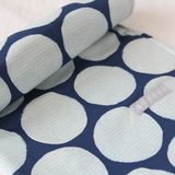 Portable Baby Change Mat - Organic - Navy Disguise