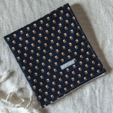 Portable Baby Change Mat - Organic - Retro Navy