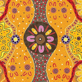 Indigenous Art Fabric Play Mat - Wildflower