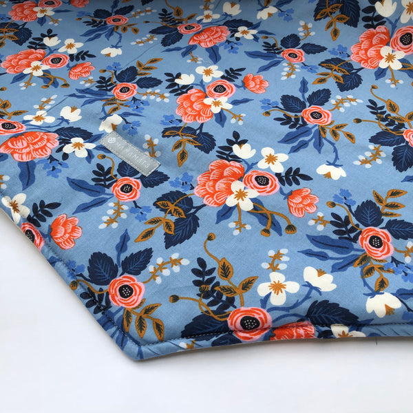 Baby Play Mat - Garden Rose