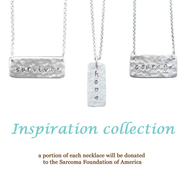 Inspiration Necklaces For Sarcoma Foundation Research
