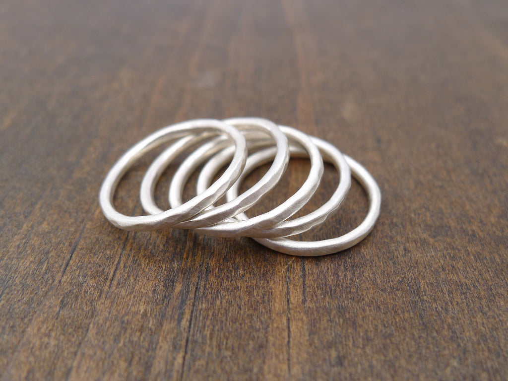stacking rings set of 5