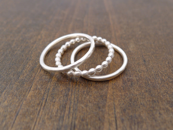 three ring mixed stacking rings