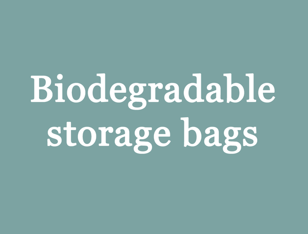biodegradable storage bags