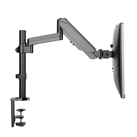 gas spring desktop mount arm adjustable for screen