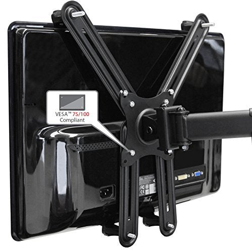 Non VESA Monitor Mount Adapter Bracket Kit Supports most 13-inch to 27-inch monitors
