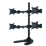Four Monitor Stand - Freestanding (4MS-F)