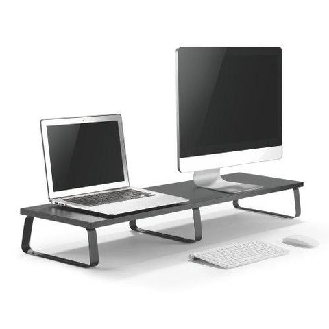 Particle Board Desktop Monitor Stand-dual Screen Option (RS002)