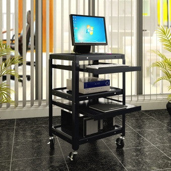 Multimedia stands and Audio Visual Carts C-54
