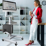 Sit Stand Workstation by Gas Lift, (GMCT09)