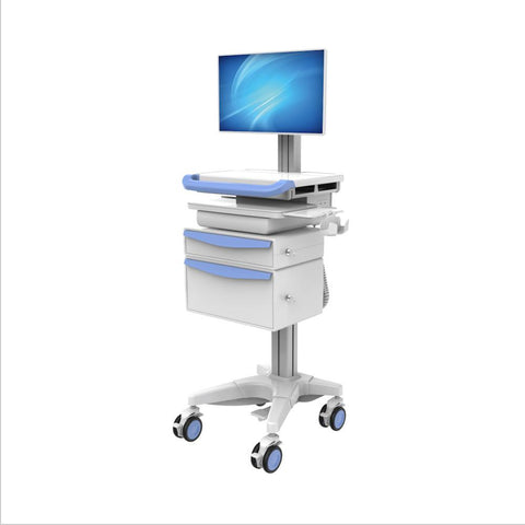 MEDICAL MOBILE COMPUTING NURSING CART, (HSC-PMB)