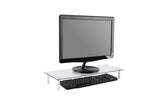 Glass Ergonomic Tabletop Riser/Desktop Stand for Computer Monitor, LCD LED TV, Monitor, Laptop/Notebook, (RG001)