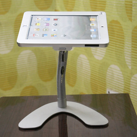 Ipad Desktop Stand for Ipad with goose neck arm (IP8B)  - 1