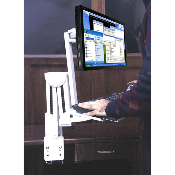 Keyboard / Monitor table/Wall Mount, (LMS-C)