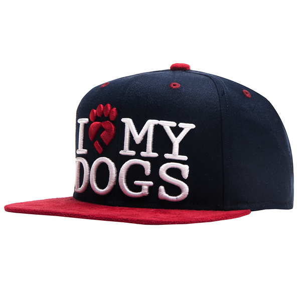 Boné I Love My Dogs Re-edition Snapback