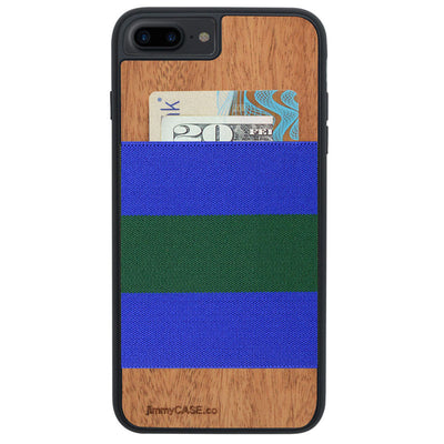 ブルー×グリーン Royal Blue and Kelly Green Stripe