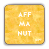 Aff Ma Nut Scottish Dialect Coaster Coasters Scotland Scottish Scots Gift Ideas Souvenir Present Highland Tartan Personalised Patter Banter Slogan Pure Premium Dialect Glasgow Edinburgh Doofery
