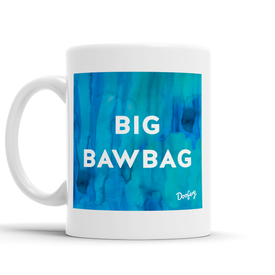 Big Bawbag Scottish Dialect Mug Mugs Scotland Scottish Scots Gift Ideas Souvenir Present Highland Tartan Personalised Patter Banter Slogan Pure Premium Dialect Glasgow Edinburgh Doofery